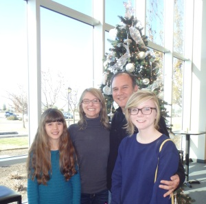 My Family @ Clovis Hills Community Church, Christmas 2014