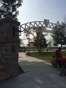 Cottonwood Park Entrance, one of a half-dozen parks within a mile of one another