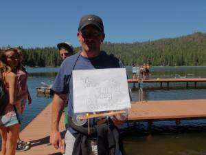 Mike's winning 'anything goes' Popsicle Regatta Boat entry