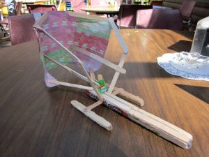 My Popsicle Regatta Boat, the Jolly Rancher, back in 2010.  It was more something to look at than it was seaworthy…