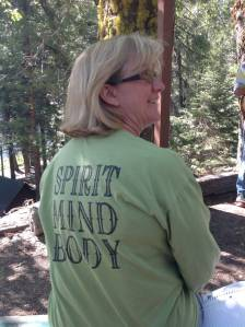 Cheryl Suydam -Taylor, Camp Director and great family friend.