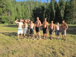 Ultimate Frisbee Team 1