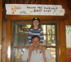 """Father's Day 2009 - I was the """"Duckiest Dad"""" that day!"""