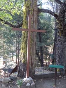 Cross at Camp Sequoia Chapel