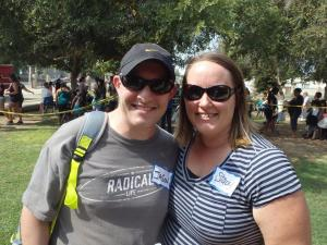 Jason and Stacy Newsome, Leaders of the Faithful Feet 2014 Event