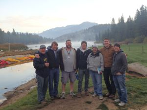 The Men from Jason's Growth Group at the Men's Retreat '14