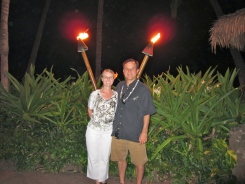 Luau Tiki Torches