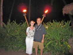 Luau Tiki Torches