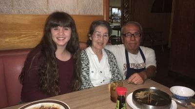 Gigi, Mom and Toshi-San